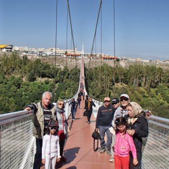 پل معلق مشکین شهر - سال 1394