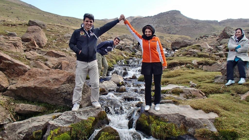 آبشارهای زیبا در اطراف مشکین شهر - شهریور ۱۳۹۴