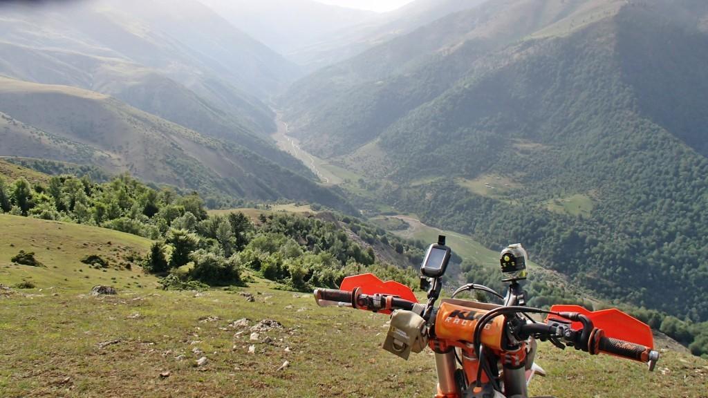 موتورسواری در ارتفاعات گیلان – خرداد ۱۳۹۴