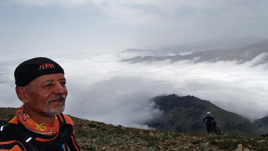 فتح قله شاه معلم بعنوان اولین گروه موتورسوار - خرداد 1394