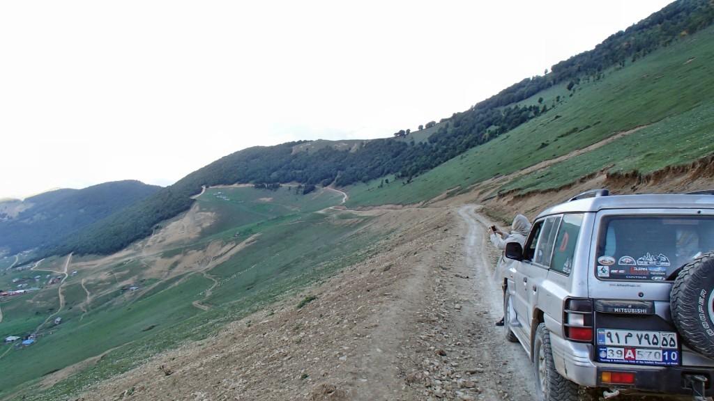 جاده اندبیل به اسالم - جاده های زیبای ایران - شهریور ۱۳۹۴