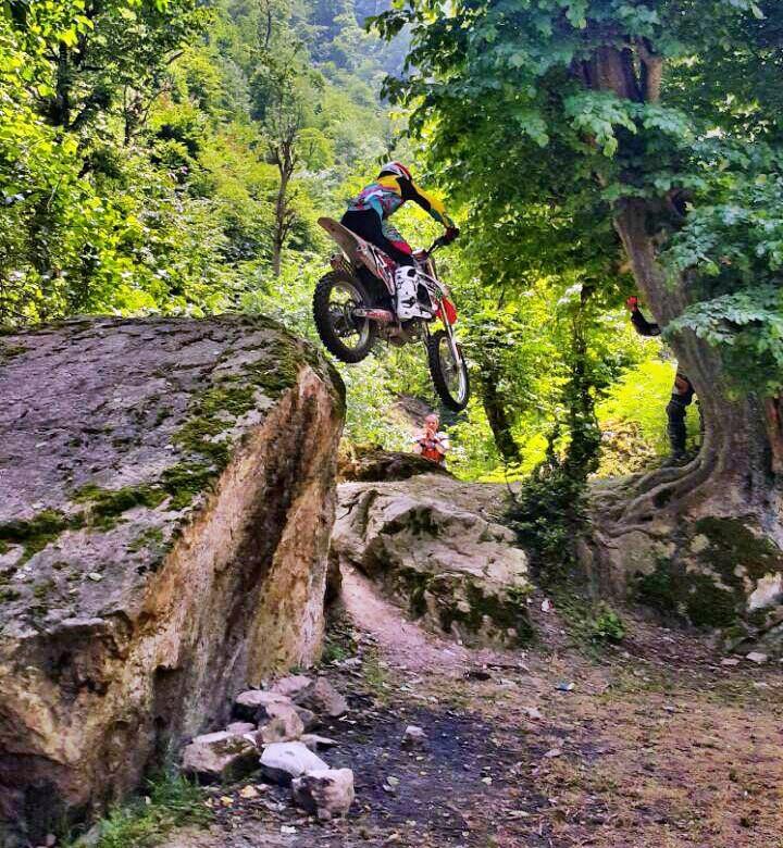 موتورسواری در جنگلهای شالما و اولسبلانگا - خرداد ۱۳۹۴