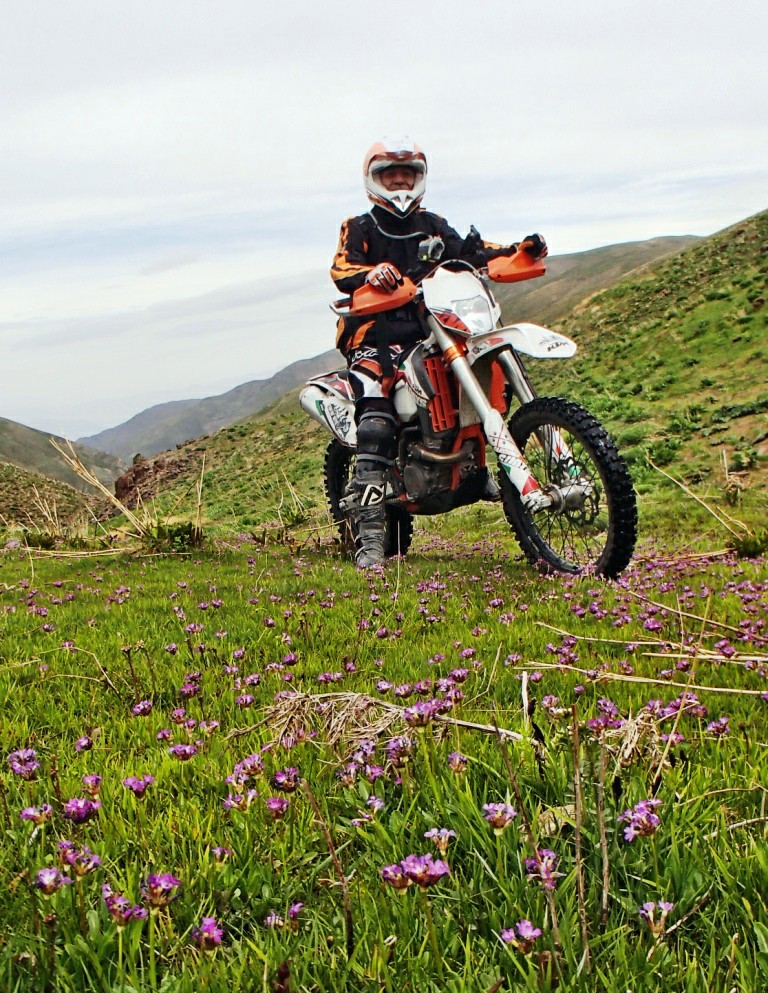 کوهستانهای اسفاران با موتور - بهار ۱۳۹۴