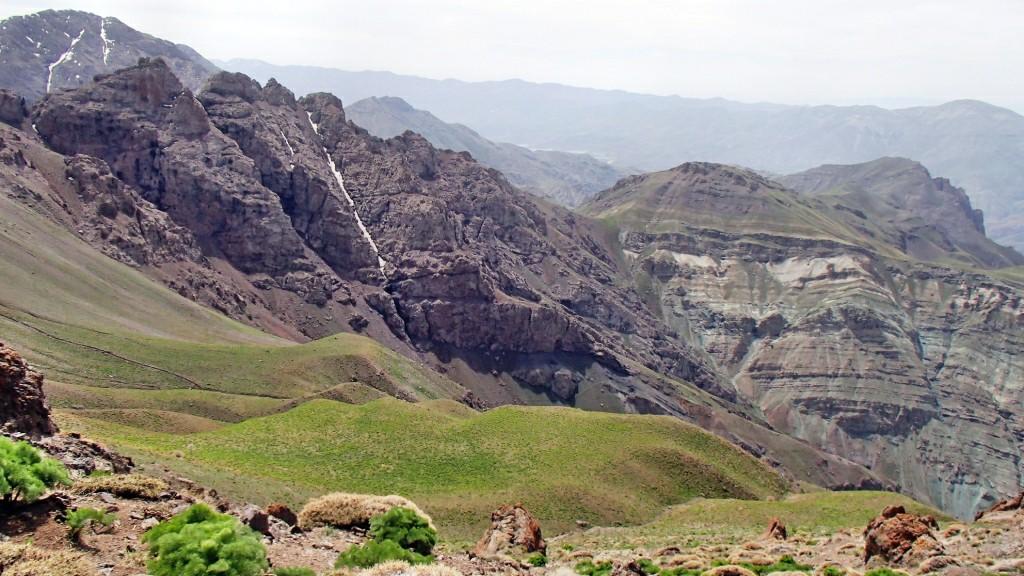 گردش در منطقه اسفاران با موتور - بهار ۱۳۹۴