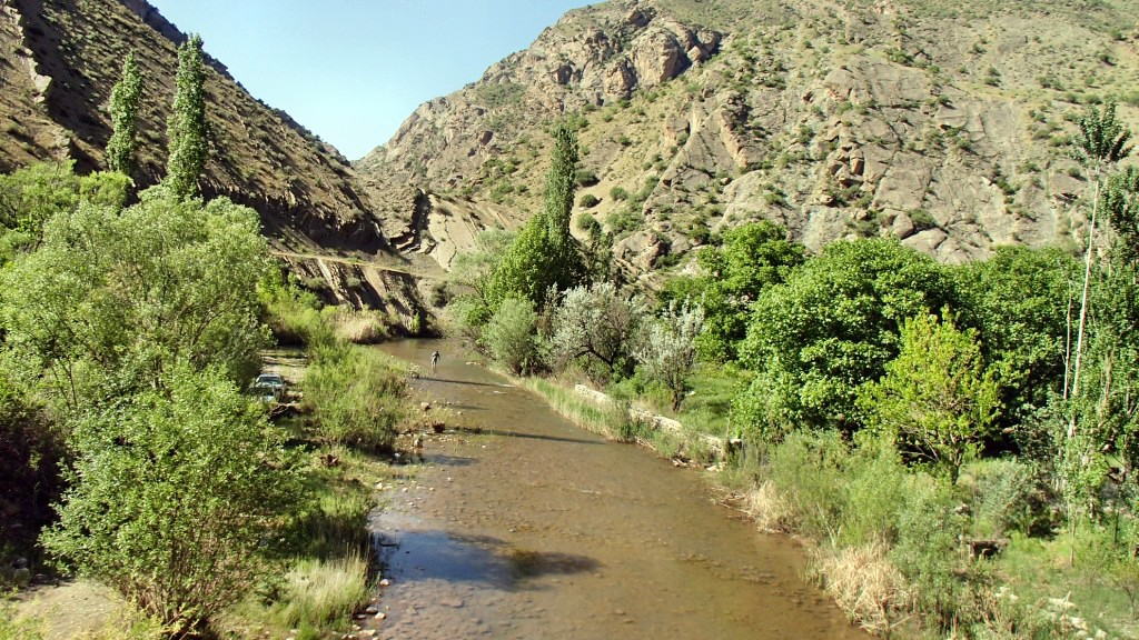 رودخانه اسفاران ، ارتفاعات طالقان - بهار ۱۳۹۴