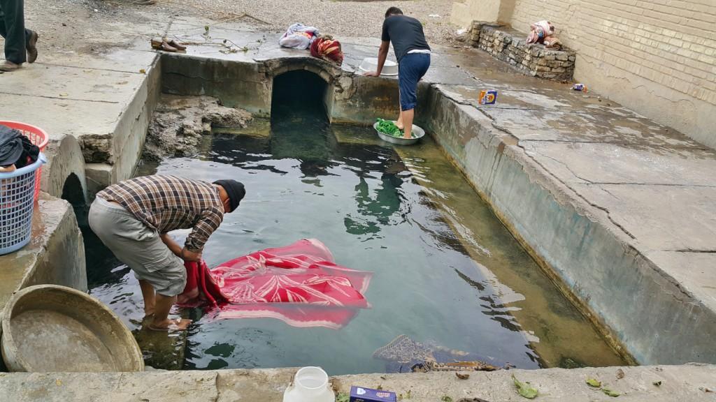 قنات قصبه گناباد با 2500 سال قدمت - آبان ۱۳۹۴