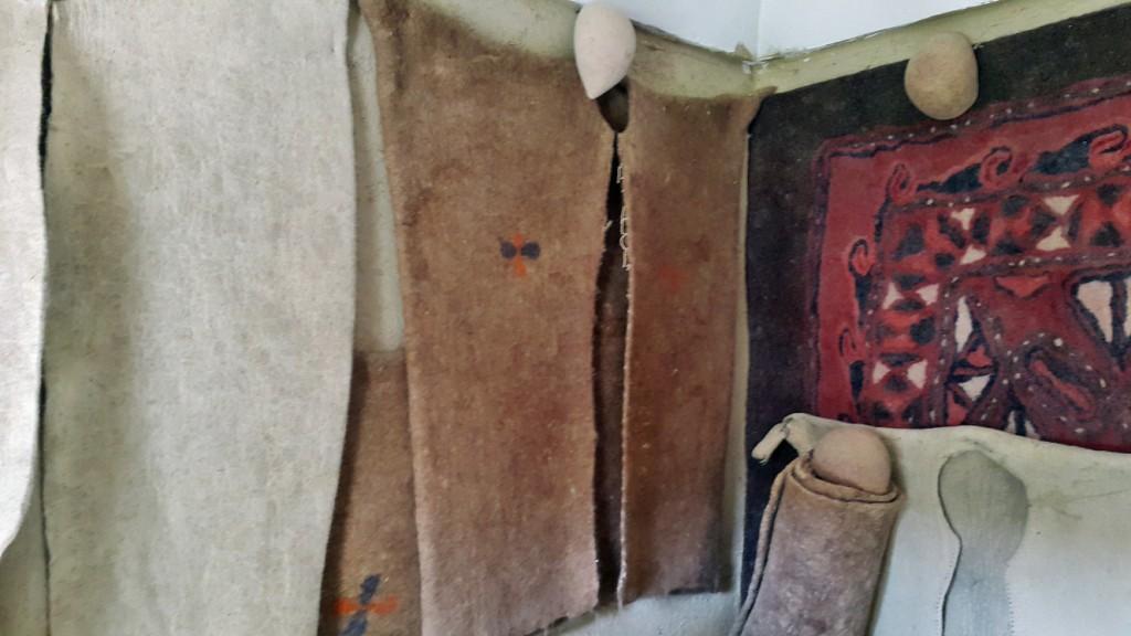 نمدمالی در موزه گناباد - آبان ۱۳۹۴