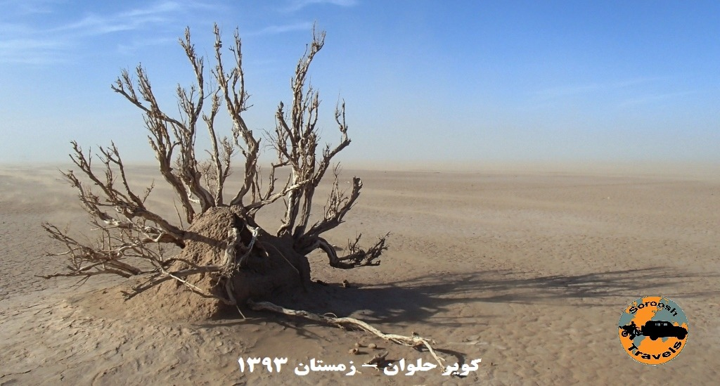 آلفونس گابریل در کویر مرکزی ایران - زمستان ۱۳۹۳