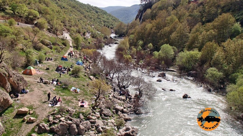 آبشار بیشه - فروردین ۱۳۹۴