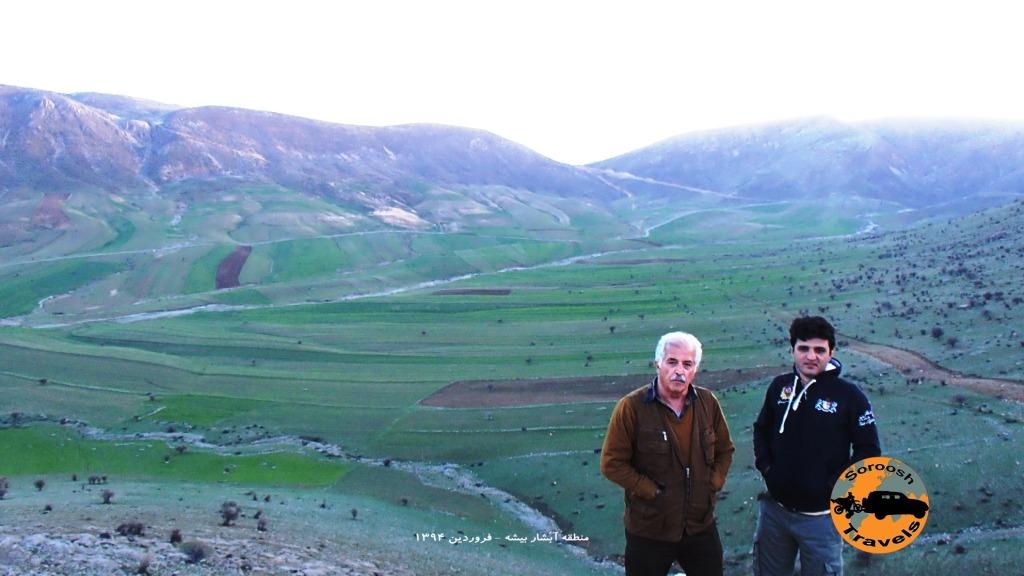 در مسیر آبشار بیشه - فروردین ۱۳۹۴