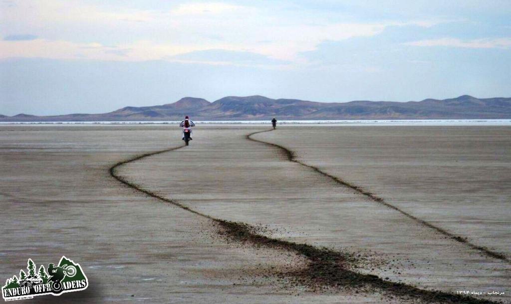 دریاچه نمک در مرنجاب - ۱۸ دیماه ۱۳۹۴