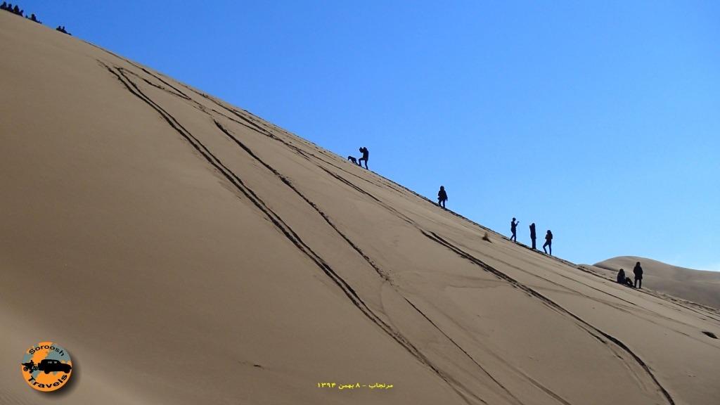 هیجان موتورسواری در رملهای مرنجاب – ۸ بهمن ۱۳۹۴