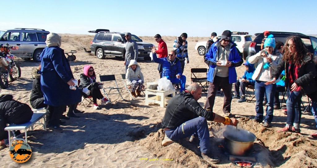 آفرود خانوادگی در کویر مرنجاب - ۸ بهمن ۱۳۹۴