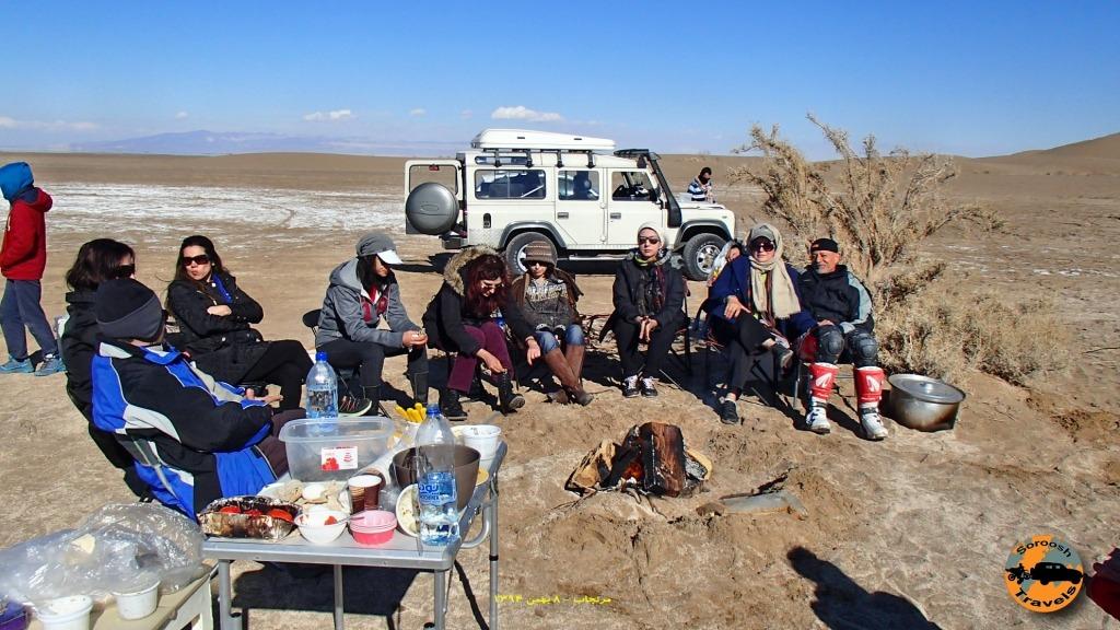 آفرود خانوادگی در مرنجاب - ۸ بهمن ۱۳۹۴
