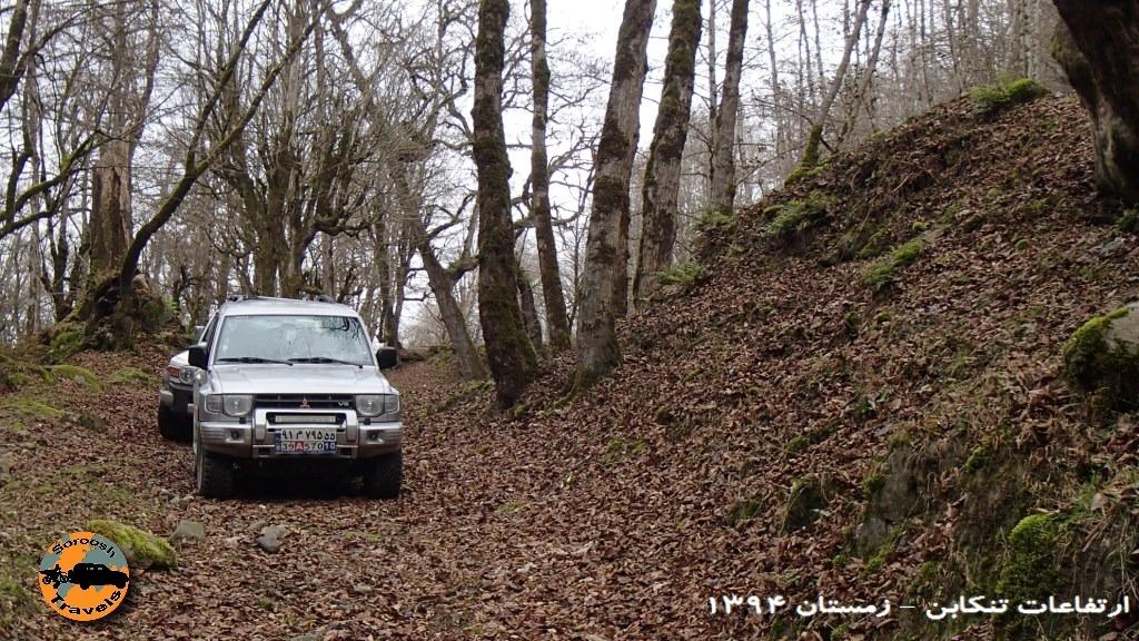 جنگلهای زیبای تنکابن – زمستان ۱۳۹۴