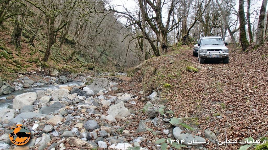 رودخانه در جنگل - زمستان ۱۳۹۴