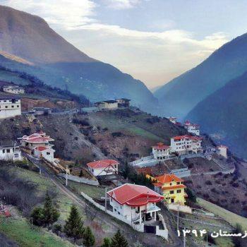 ارتفاعات تنکابن - زمستان 1394