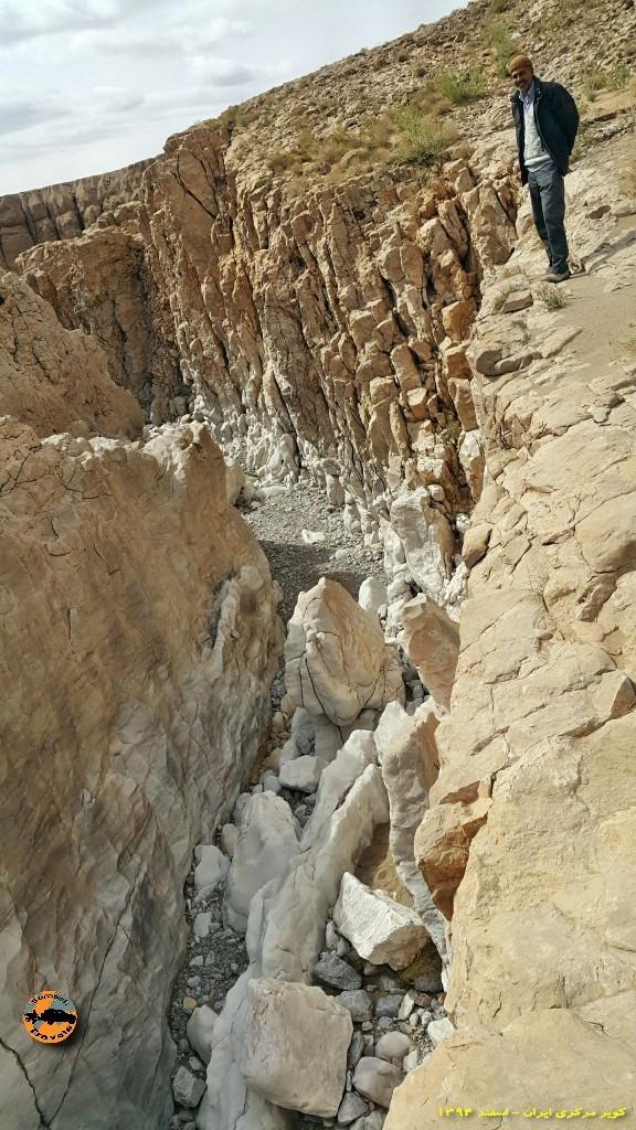 آبرفتهای حاشیه کویر - حاشیه کویر مرکزی ایران - زمستان ۱۳۹۴