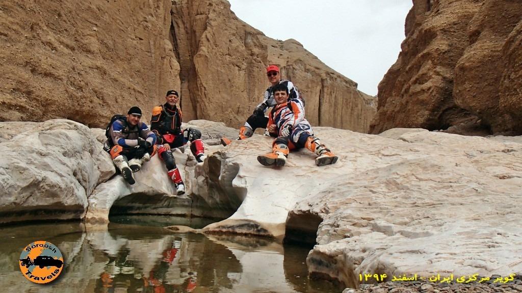 سنگاب در بیابان – شگفتیهای کویر مرکزی ایران – زمستان ۱۳۹۴