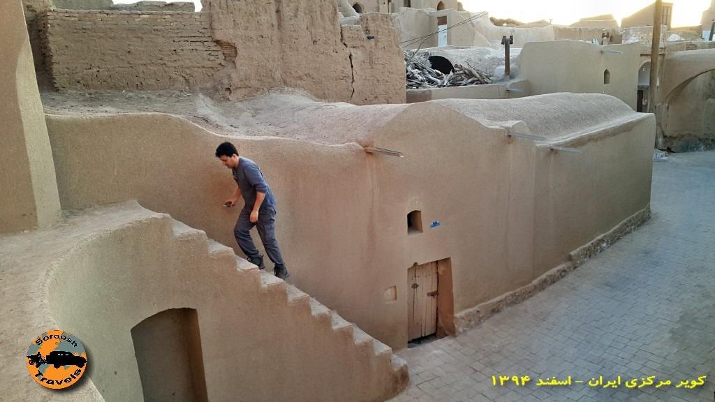 قلعه جندق ( قلعه ساسانی ) : زمستان ۱۳۹۴