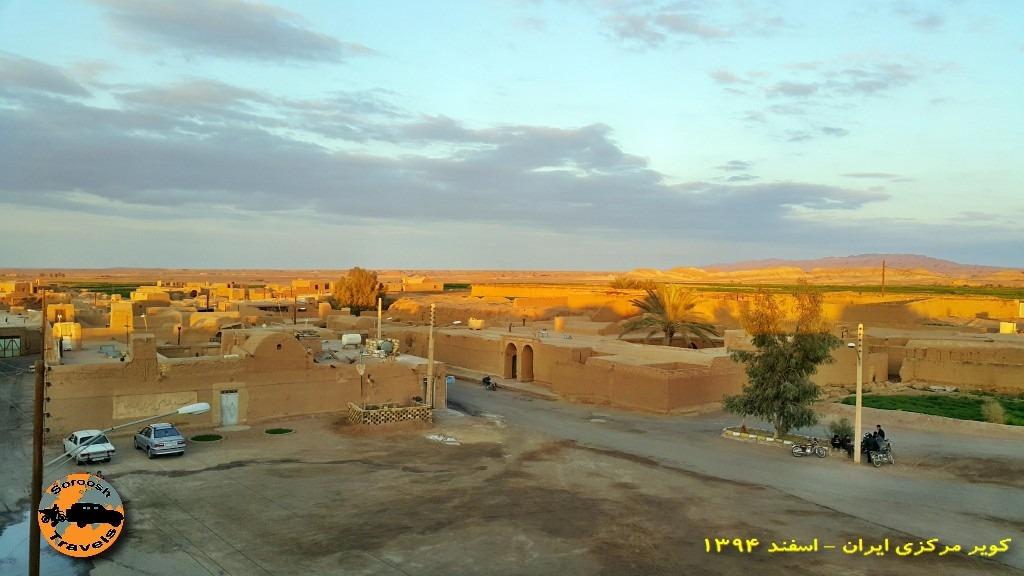 کاروانسرای جندق ( قلعه ساسانی ) : زمستان ۱۳۹۴
