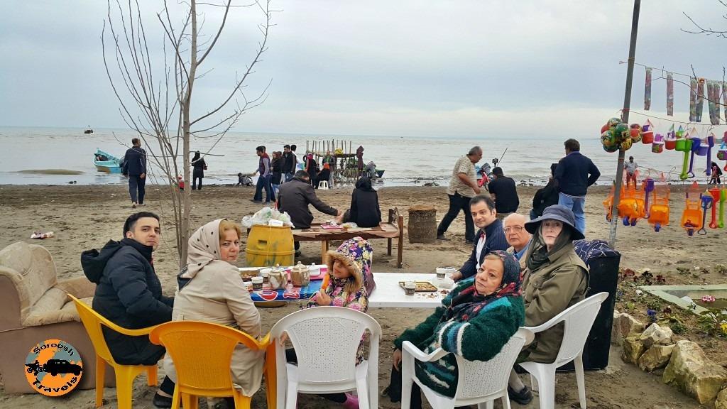 دریای خزر - نوروز ۱۳۹۵