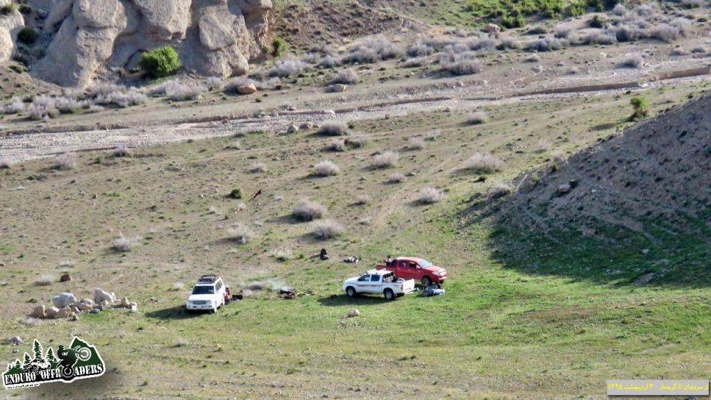 کمپ در کوههای جنوب سربندان - ۲ و ۳ اردیبهشت ۱۳۹۵