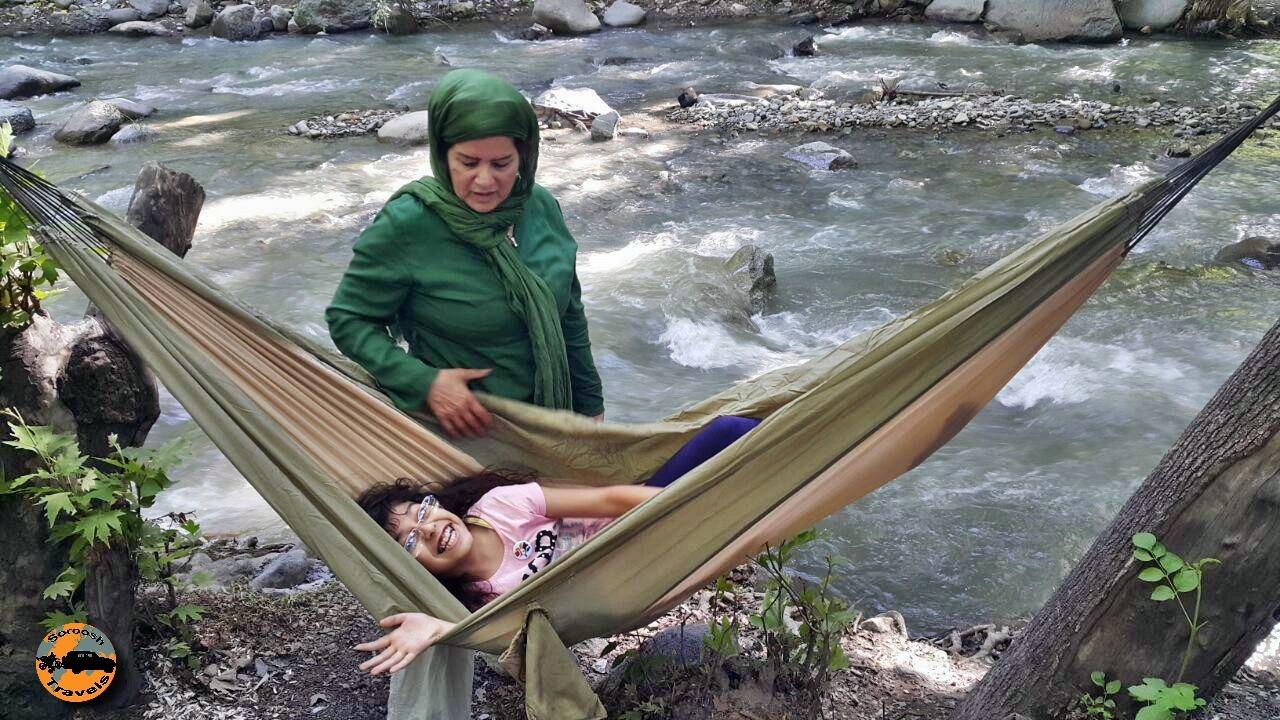 برغان – رودخانه و طبیعت زیبای برغان – ۷ خرداد 1395