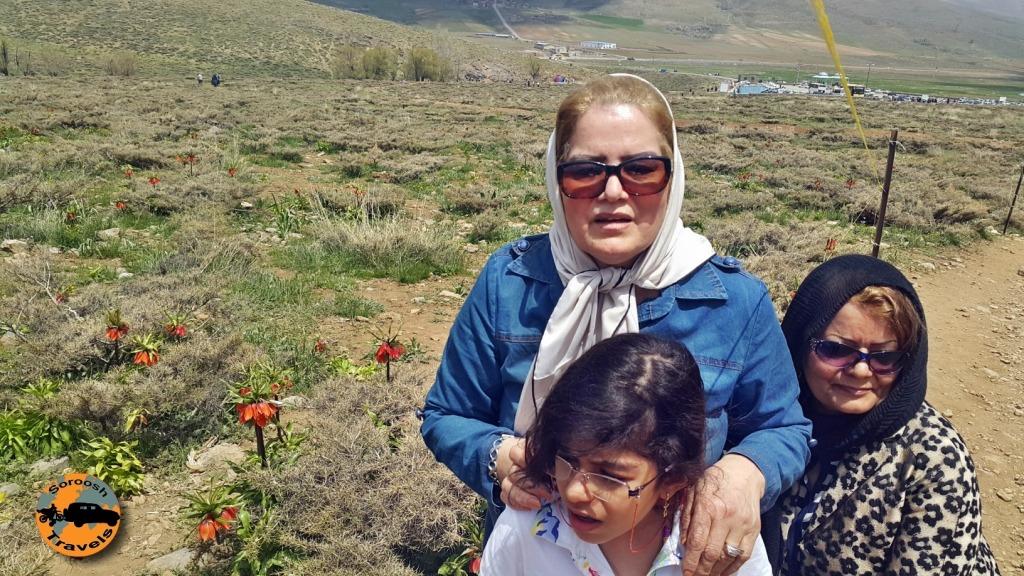 خوانسار - گلستانکوه - لاله های واژگون : بهار ۱۳۹۵
