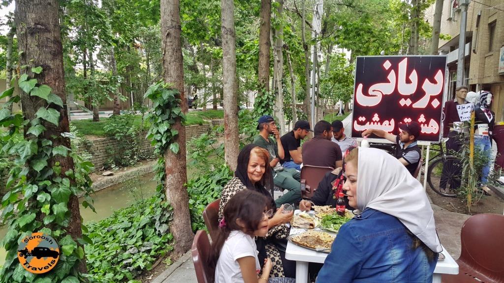 بریانی ، غذای سنتی اصفهان - بهار ۱۳۹۵