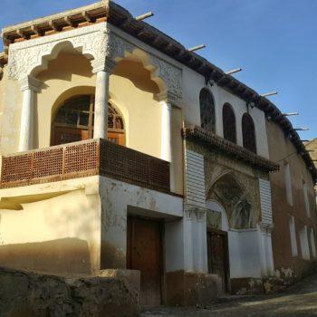 خانه نیما یوشیج در روستای یوش - بهار 1395 - 2016