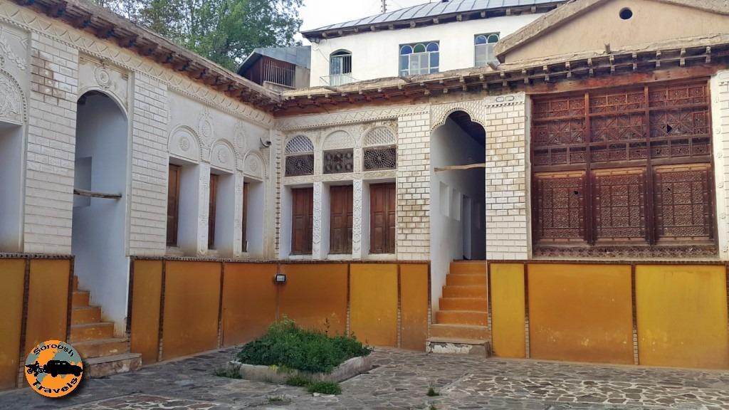 خانه نیما یوشیج در روستای یوش – بهار 1395