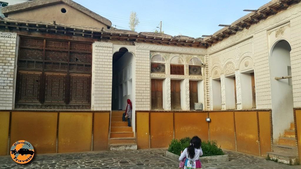 خانه نیما یوشیج در روستای یوش - بهار 1395