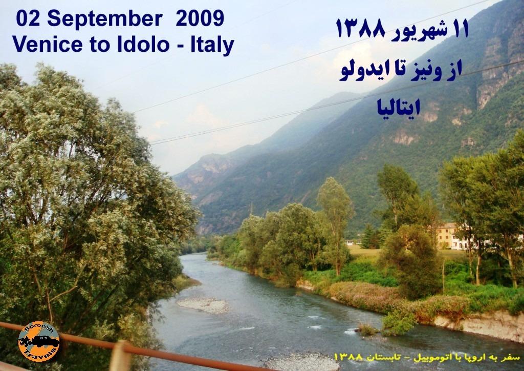 ۳۱-۱۱ Shahrivar - 02 September - Venice to Idolo 1388 (1)