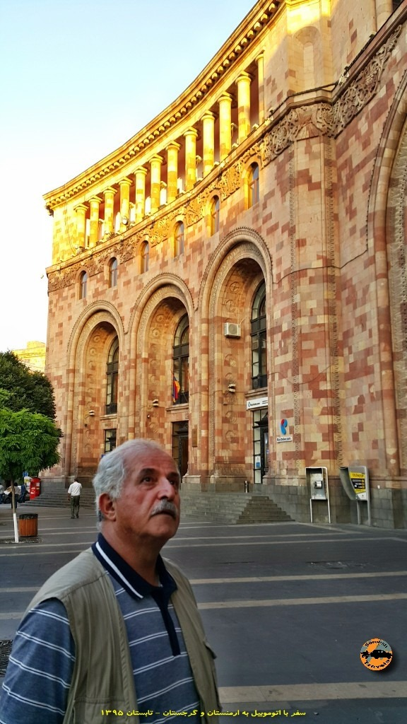 میدان جمهوری در ایروان - ارمنستان - تابستان ۱۳۹۵