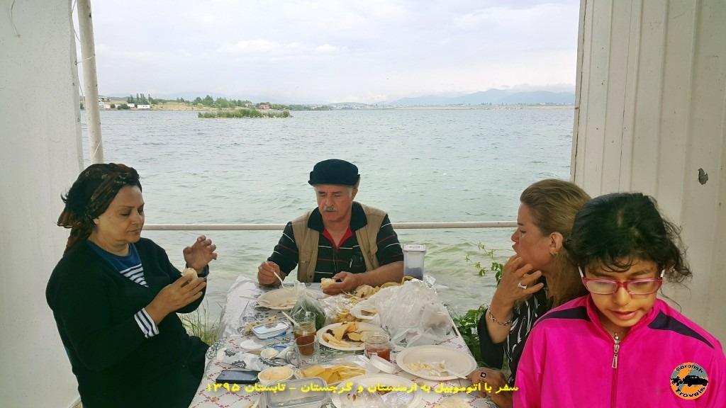 دریاچه سوان ارمنستان - تابستان 1395