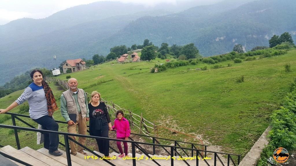 اقامتگاه رویایی آپاگا در ارمنستان – تابستان 1395