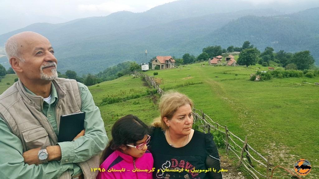 اقامتگاه رویایی آپاگا در ارمنستان - تابستان 1395