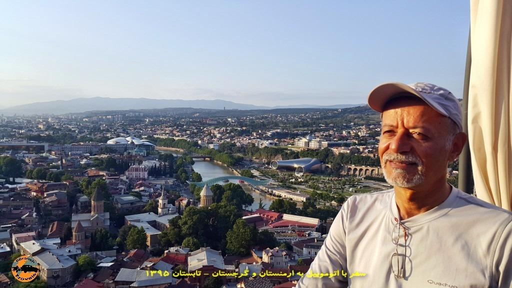 تله کابین تفلیس پایتخت گرجستان - نابستان 1395