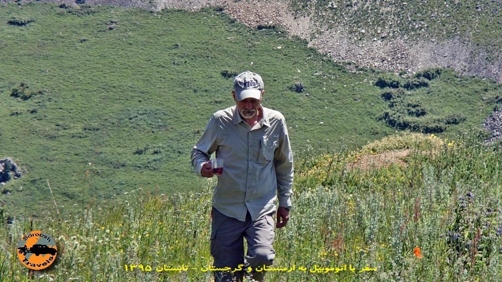 طبیعت زیبای جاده های ارمنستان - تابستان ۱۳۹۵