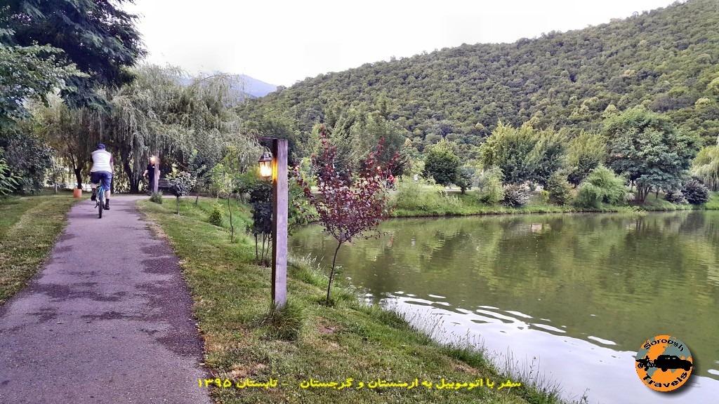 پیاده روی کنار لوپوتا - گرجستان - تابستان 1395