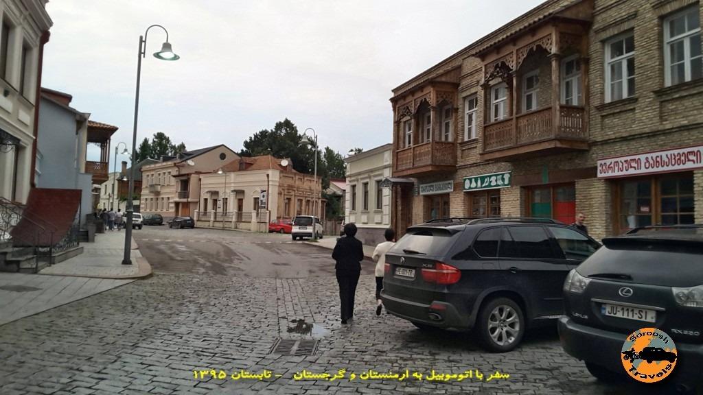 شهر گوری زادگاه استالین - گرجستان - تابستان 1395
