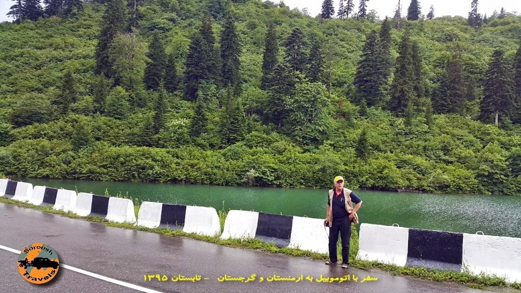 رودخانه های اطراف تساگری - گرجستان - تابستان 1395