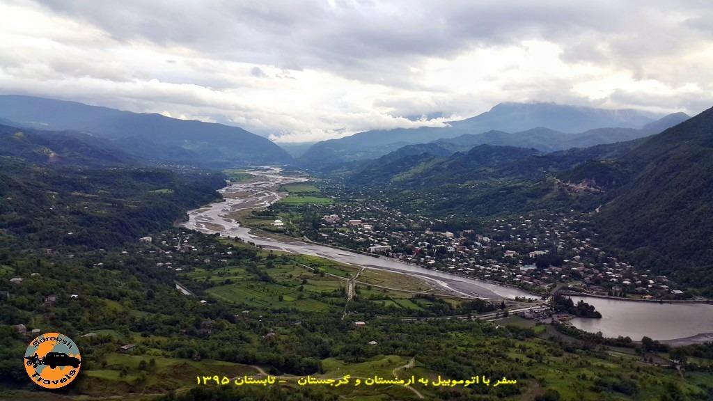 بطرف شهر تساگری گرجستان - تابستان 1395