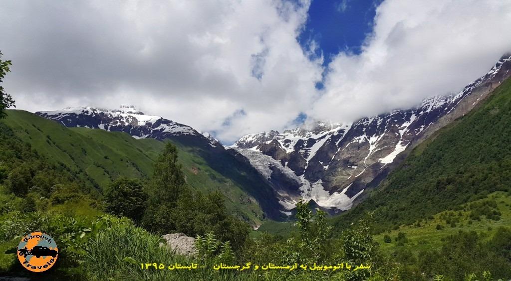 جاده های سرسبز اوشگولی - تابستان 1395