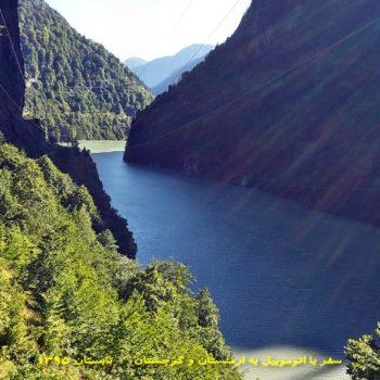 مسیر مستیا به زوگدیدی در گرجستان - تابستان 1395 - 2016