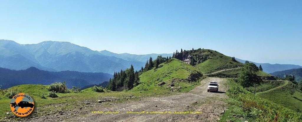 پارک ملی خاراگاولی برجومی - گرجستان - تابستان 1395