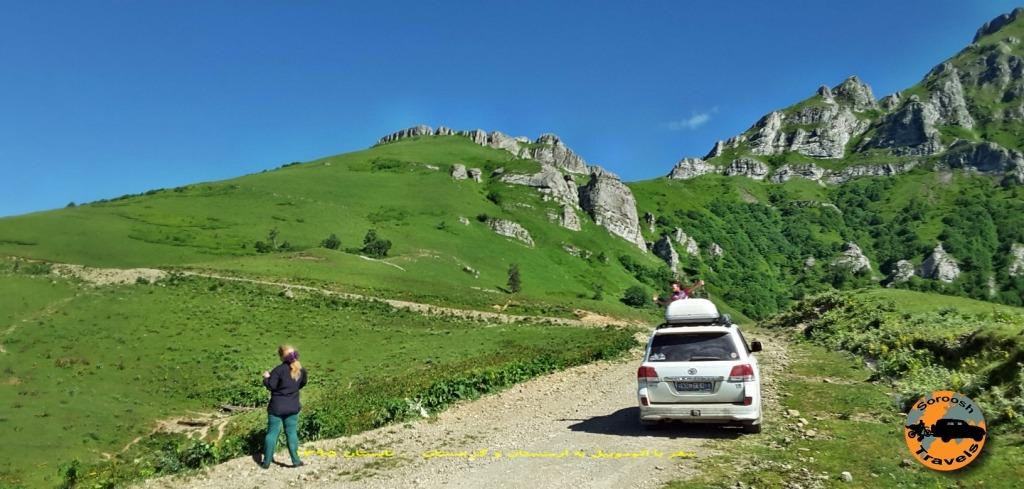 مسیر زوگدیدی تا عباس تومانی - گرجستان - تابستان 1395