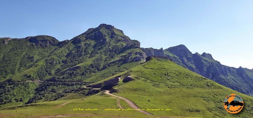 پارک ملی خاراگولی برجومی - گرجستان - تابستان 1395