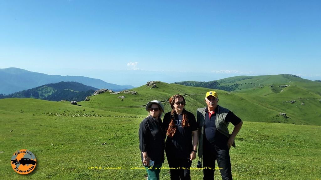 کوههای خاراگولی برجومی - گرجستان - تابستان 1395
